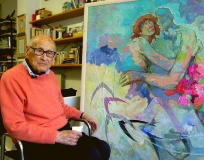 Um pintor italiano de 107 anos é o mais velho 'youtuber' do mundo