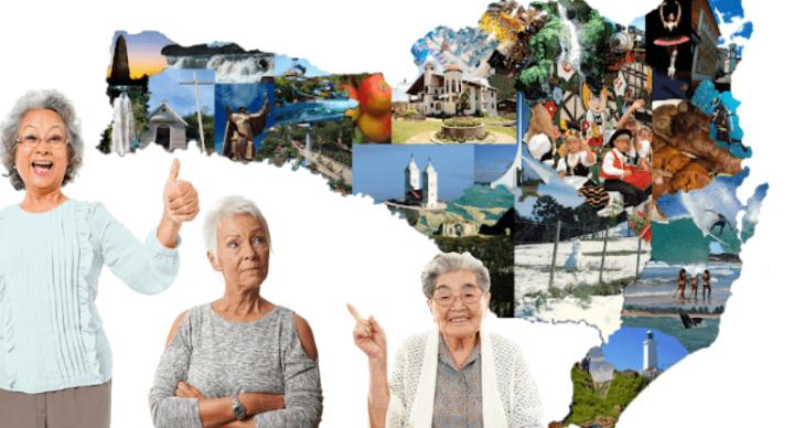 A longevidade das mulheres catarinenses aproxima-se de países como Espanha e Japão